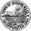 Official seal of Hudson, Massachusetts