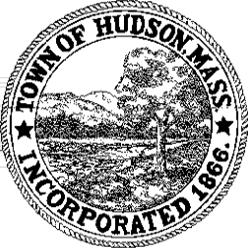 Official seal of Hudson, Massachusetts