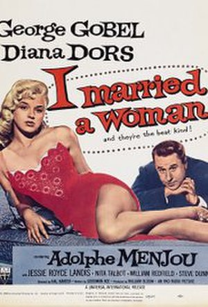 I Married a Woman - Film poster