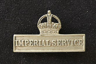 Territorial Force Imperial Service Badge - Image: Imperial Service Clasp