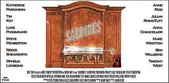 Sardines (Inside No. 9) - Image: Inside No 9, Sardines poster