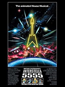 daft punk interstella 5555 full movie