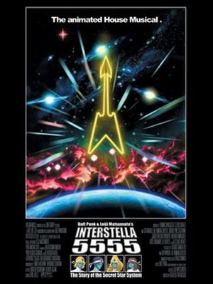 Interstella 5555: The 5tory of the 5ecret 5tar 5ystem - Theatrical release poster