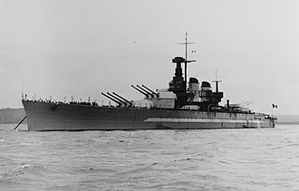 Italian battleship Vittorio Veneto - Image: Italian battleship Vittorio Veneto