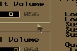 VGA-compatible text mode - Mouse cursor in Impulse Tracker.