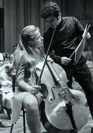 Jacqueline du Pré - Jacqueline du Pré with the Davidov Stradivarius cello and Daniel Barenboim