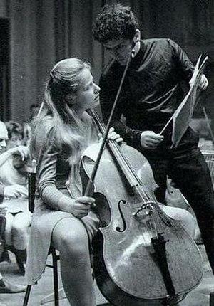 image of cellist Jacqueline du Pré (1945-1987)...