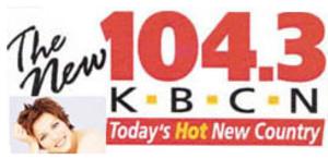 KBCN-FM - Image: KBCN FM logo