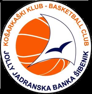 KK Jolly Jadranska Banka Šibenik - Image: KK Jolly Jadranska Banka logo