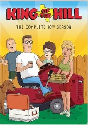 King of the Hill (season 10) - DVD cover