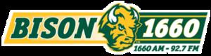 KQWB (AM) - Image: KQWB BISON1660 92.7 logo