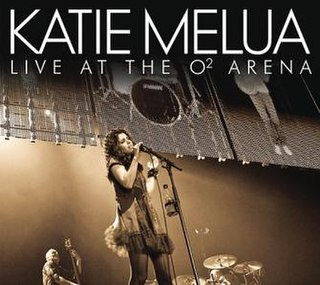 <i>Live at the O² Arena</i> 2009 live album by Katie Melua