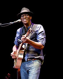 Keb' Mo' Waterville Opera House 2014.jpg