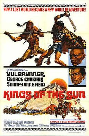 Kings of the Sun - Theatrical release poster by Frank McCarthy