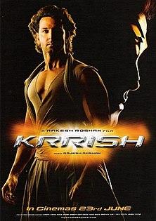<i>Krrish</i> 2006 Science-Fiction (Sci-Fi) film directed by Rakesh Roshan