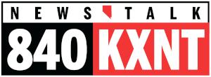 KXNT (AM) - Image: Kxnt 840am logo