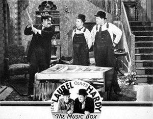 The Music Box - Lobby card
