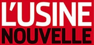 L'Usine nouvelle - Image: L'Usine nouvelle magazine nameplate