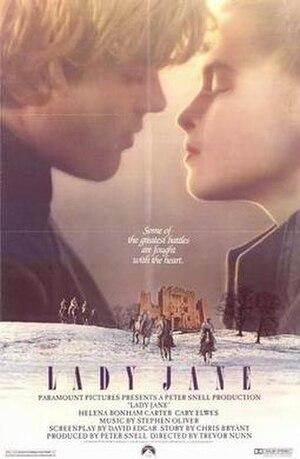 Lady Jane (1986 film) - Cinema poster