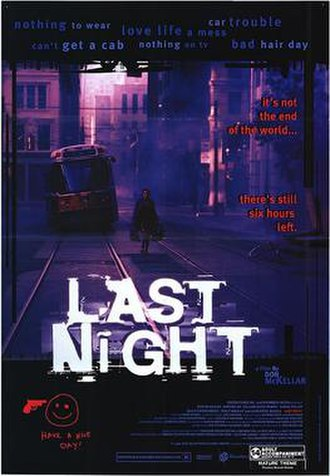 Last Night (1998 film) - Theatrical poster