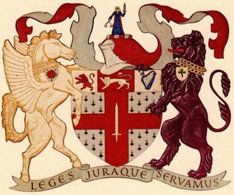 Law Society of England and Wales - The coat of arms of the Law Society.