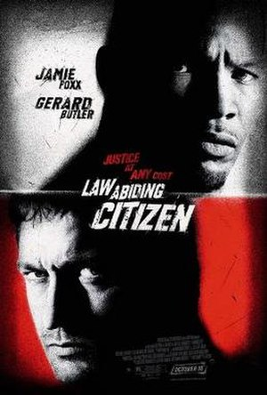 Law Abiding Citizen - Theatrical release poster