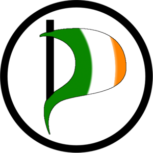 Pirate Party (Ireland) - Image: Logo Pirate Party Ireland