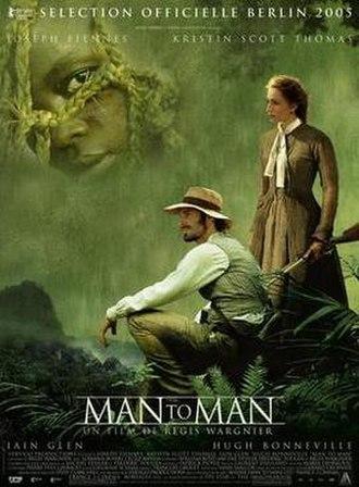 Man to Man (2005 film) - Film poster