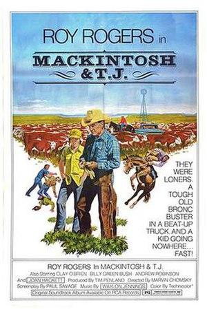 Mackintosh and T.J. - Original film poster