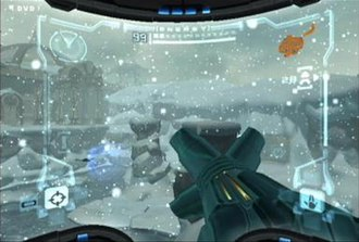 Metroid - The first Metroid Prime game, released in 2002 for the Nintendo GameCube, introduced 3D and FPS elements to the series as the player controls Samus Aran investigating the fictional planet Tallon IV.