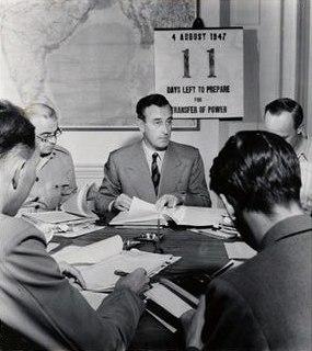 Mountbatten 4 august 1947