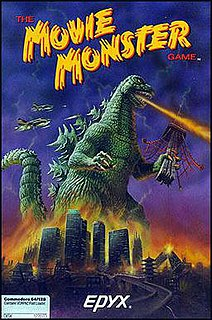 <i>The Movie Monster Game</i> 1986 video game