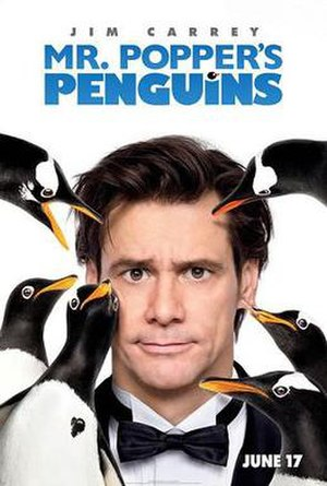 Mr. Popper's Penguins (film) - Theatrical release poster