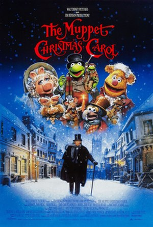 The Muppet Christmas Carol - Theatrical release poster by Drew Struzan