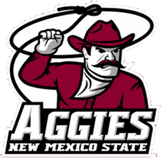 "New Mexico State Aggies - ""Lasso Larry"" logo (no longer used)"