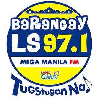 DWLS - Barangay LS 97.1 logo (2014-2017)