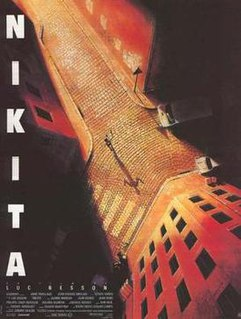 <i>Nikita</i> (film) 1990 Franco-Italian action thriller film directed by Luc Besson