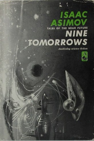 Nine Tomorrows - Dust-jacket from the first edition