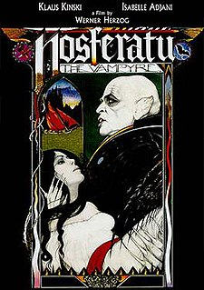 <i>Nosferatu the Vampyre</i> 1979 film by Werner Herzog
