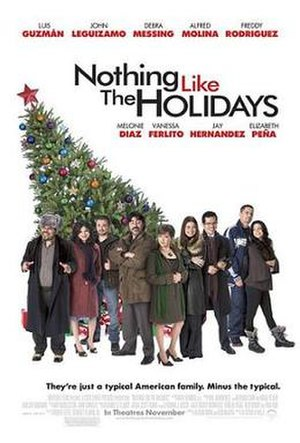 Nothing like the Holidays - Theatrical release poster