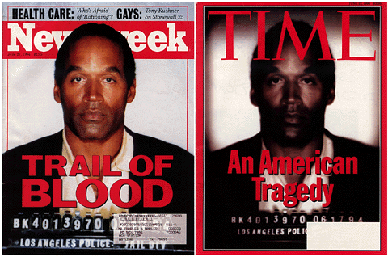 OJ Simpson Newsweek TIME