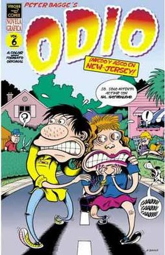Hate (comics) - Image: Odio