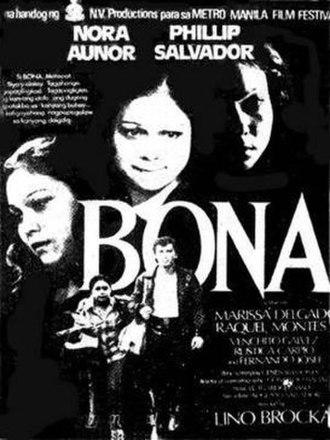 Bona (film) - Image: Official poster of Bona