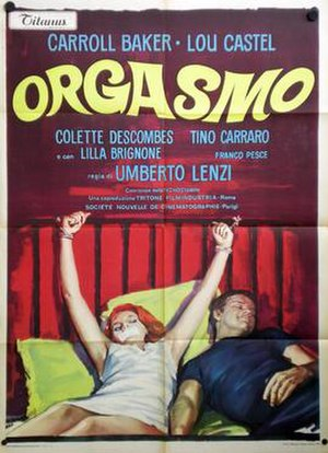 Orgasmo - Image: Orgasmo poster