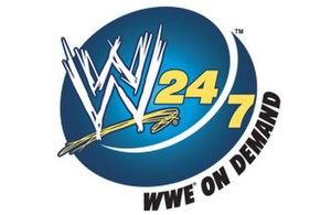 WWE Classics on Demand - WWE 24/7 logo used until April 2009.