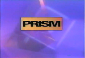 PRISM (TV network) - The second and last logo for PRISM, used from the channel's rebrand in 1993 until the channel shut down in October 1997.