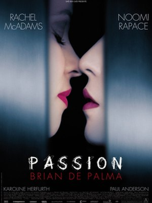 Passion (2012 film) - Theatrical release poster