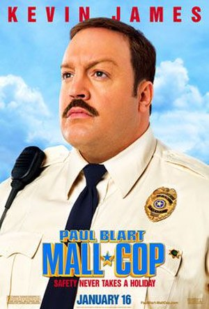 Paul Blart: Mall Cop - Theatrical release poster