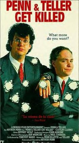 Penn & Teller Get Killed - VHS cover
