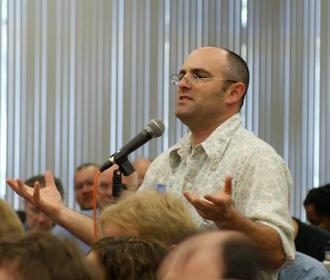 Phil Zuckerman - Zuckerman at a 2010 conference in Costa Mesa, California